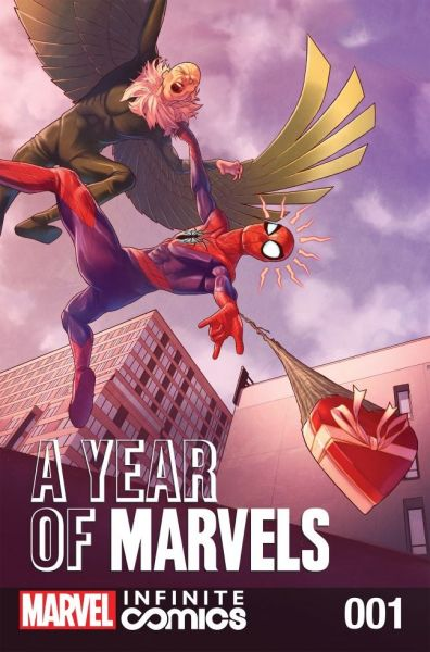 A Year Of Marvels Infinite Comic